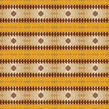 etniczny deseniowy bezszwowy Zdjęcia Royalty Free