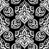 etniczny deseniowy bezszwowy Obraz Royalty Free