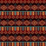 etniczny deseniowy bezszwowy Fotografia Stock