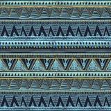 etniczny deseniowy bezszwowy Plemienny sztuki boho druk, rabatowy ornament Tło tekstura, tapeta, opakunkowy wektorowy Etniczny be ilustracja wektor