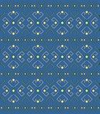 Etniczny geometryczny wzór, tło Obrazy Royalty Free