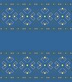 Etniczny geometryczny wzór, tło Zdjęcia Royalty Free