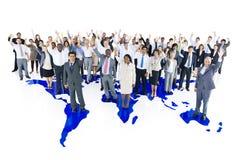 Etniczny grupowy biznesowy osoby pojęcie obraz stock