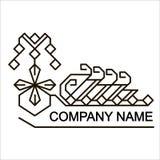 etniczny logo Obrazy Royalty Free