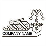 etniczny logo Zdjęcia Royalty Free