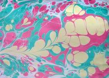 Etniczny marmurowy abstrakta wzór Fotografia Stock