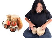 etniczny muzyk Fotografia Royalty Free