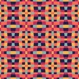 Etniczny nowożytny geometryczny bezszwowy deseniowy ornament ilustracji