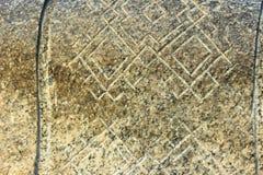 Etniczny ornament w kamieniu Obrazy Stock