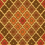 Etniczny plemienny geometryczny bezszwowy wzór Fotografia Stock