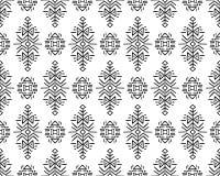 Etniczny Stylowy Wektorowy Bezszwowy wzór Obraz Royalty Free