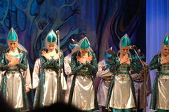 Etniczny taniec Sandrak Zdjęcia Royalty Free