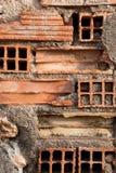Etnika. Background of bricks wall. Walpaper with bricks.Urban background royalty free stock photography