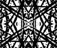 Etnisch abstract zwart naadloos patroon voor textiel, keramische tegels of achtergronden vector illustratie