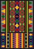 Etnisch Arabisch Afrikaans Baduy-Patroon Stock Afbeeldingen