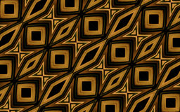 Etnisch Art Geometric Pattern Stock Foto