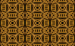 Etnisch Art Geometric Pattern Stock Fotografie