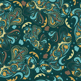 Etnisch blauw patroon royalty-vrije stock fotografie