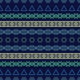 Etnisch boho naadloos patroon af:drukken Het herhalen van achtergrond Doekontwerp, behang Royalty-vrije Stock Afbeeldingen