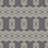 Etnisch boho naadloos patroon Traditioneel ornament Geometrische Achtergrond Stammen patroon Klein ornament met vierkanten Stock Foto