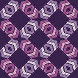 Etnisch boho naadloos patroon Traditioneel ornament Geometrische Achtergrond Stammen patroon Klein ornament met vierkanten Royalty-vrije Stock Afbeeldingen