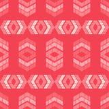 Etnisch boho naadloos patroon Traditioneel ornament Geometrische Achtergrond Stammen patroon Klein ornament met vierkanten Stock Foto's
