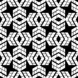 Etnisch boho naadloos patroon Traditioneel ornament Geometrische Achtergrond Stammen patroon Klein ornament met vierkanten Stock Afbeelding