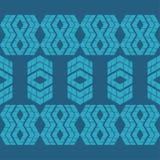 Etnisch boho naadloos patroon Traditioneel ornament Geometrische Achtergrond Stammen patroon Klein ornament met vierkanten Royalty-vrije Stock Foto's