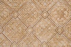 Etnisch borduurwerkpatroon Royalty-vrije Stock Foto's