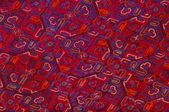 Etnisch borduurwerkpatroon Stock Foto's