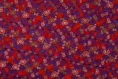 Etnisch borduurwerkpatroon Royalty-vrije Stock Afbeelding