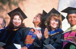 Etnisch diverse vrouwelijke faculteit stock afbeelding