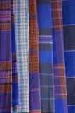 Etnisch doekpatroon stock afbeeldingen