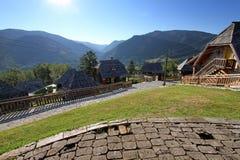 Etnisch dorp Stock Foto