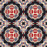 Etnisch geomertric naadloos patroon Stock Afbeelding