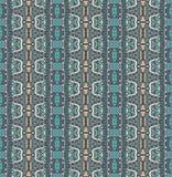 Etnisch geometrisch gestreept naadloos patroon Stock Foto