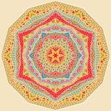 Etnisch Geometrisch Helder Patroon stock illustratie
