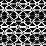 Etnisch geometrisch naadloos patroon Stock Afbeelding