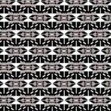 Etnisch herhaal abstracte vectorachtergrond van de patroon de moderne kleur Royalty-vrije Stock Fotografie