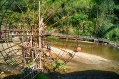 Etnisch het dorpslandschap van Cat Cat, Sapa, Vietnam royalty-vrije stock foto