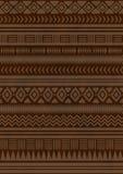 Etnisch Indisch patroon Aztec, Navajo Royalty-vrije Stock Afbeelding