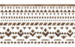 Etnisch jacquardornament Stock Afbeeldingen