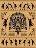 Etnisch masker Stock Afbeeldingen