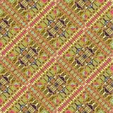 Etnisch naadloos patroon Azteekse geometrische achtergrond royalty-vrije stock afbeelding