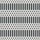 Etnisch netto abstract naadloos abstract zwart-wit patroon of twee Vector Illustratie