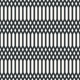 Etnisch netto abstract naadloos abstract zwart-wit patroon of twee Stock Fotografie