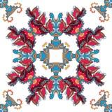 Etnisch ornament stock illustratie