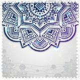 Etnisch ornament op de uitstekende achtergrond Royalty-vrije Stock Afbeelding