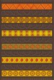 Etnisch patroon Royalty-vrije Stock Fotografie