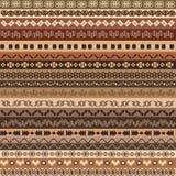 Etnisch patroon als achtergrond Stock Afbeeldingen